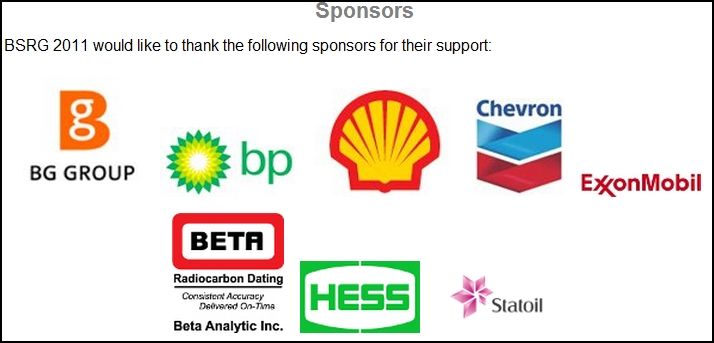 Carbon-14 Lab Beta Analytic Co-Sponsors British Sedimentological Research Group Meeting