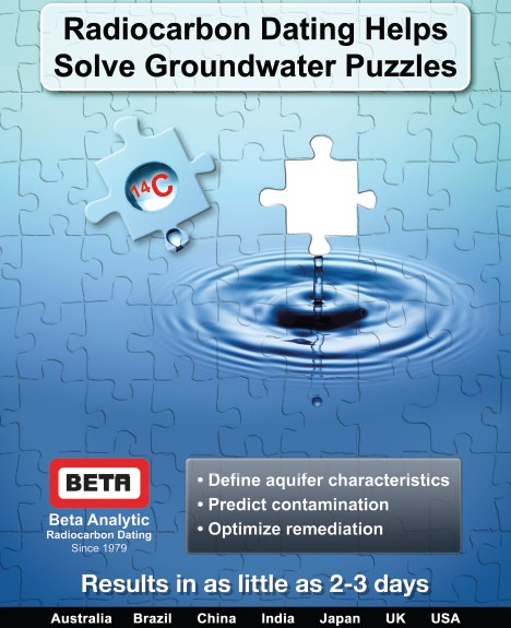 Beta Analytic Promotes Groundwater Dating Services at SWIM 2012